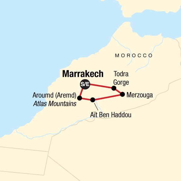 Marokko in der Wüste – Schluchten & Sahara