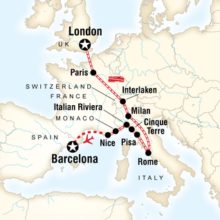Monaco Tours Travel G Adventures