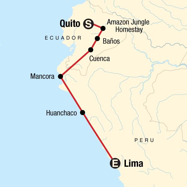 Erlebnisreise durch Südamerika – Von Quito nach Lima in Ecuador ...