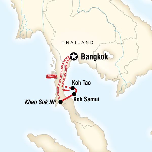 Tours of Thailand