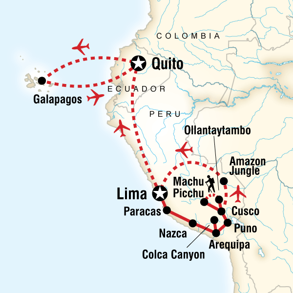 Absolute Peru  Galpagos Central Islands in Galapagos South