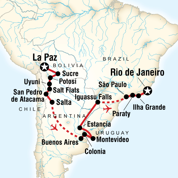Journey from Bolivia to Brazil in Bolivia, South America - G Adventures
