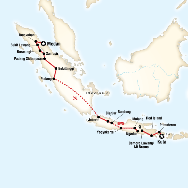 Indonesia on a Shoestring – Sumatra & Java to Kuta in Indonesia ...