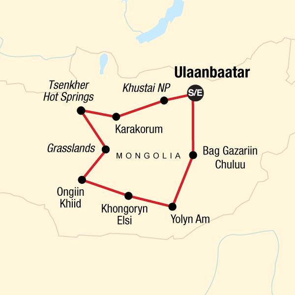 Nomaden der Mongolei in Mongolei, Asien - G Adventures