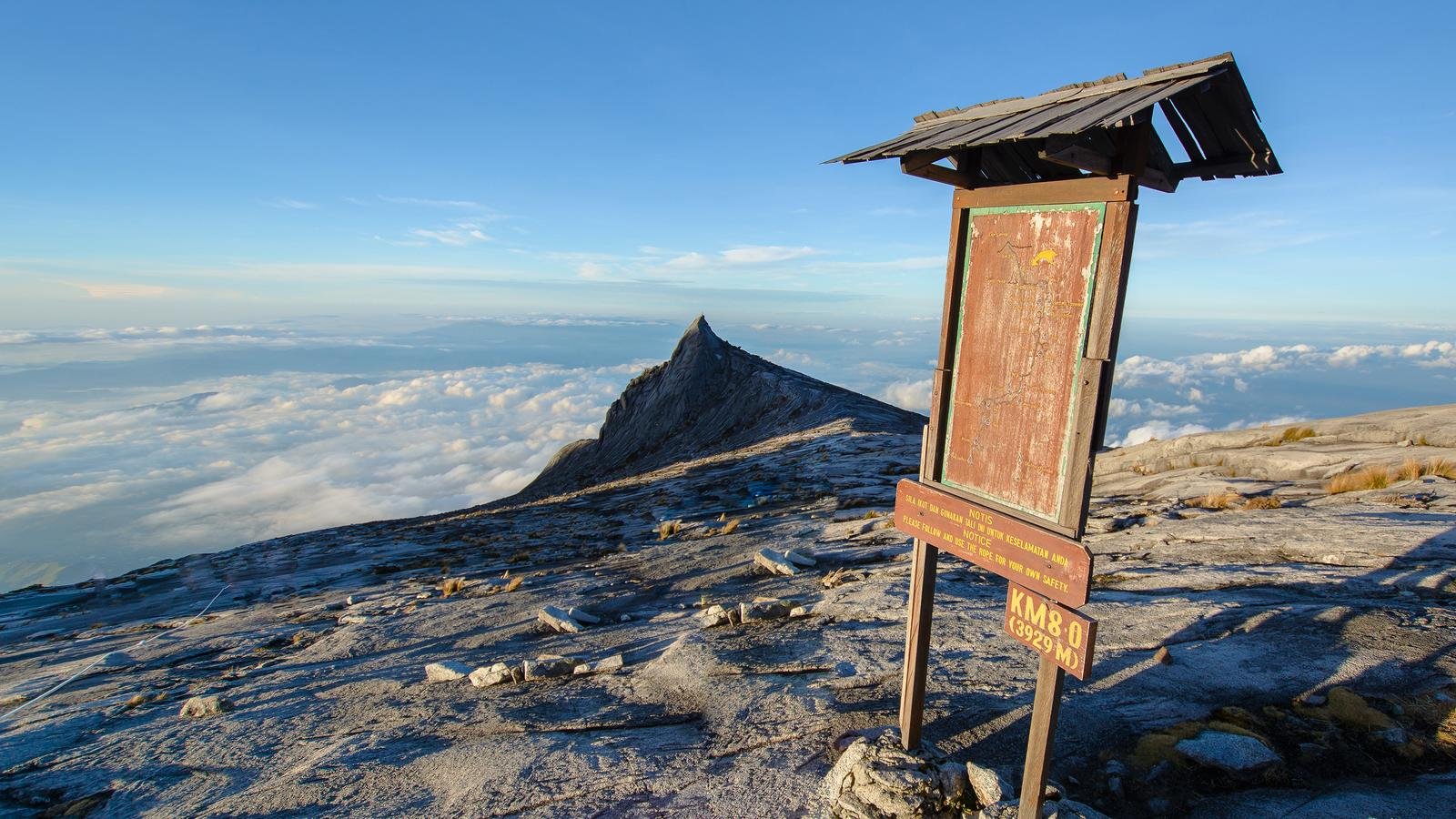 Trek Mt Kinabalu in Borneo Asia G Adventures