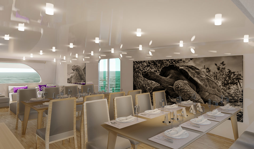 Dining area - rendering