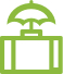 Travel insurance icon