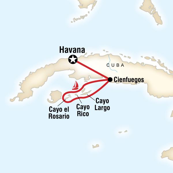 Sailing Cuba