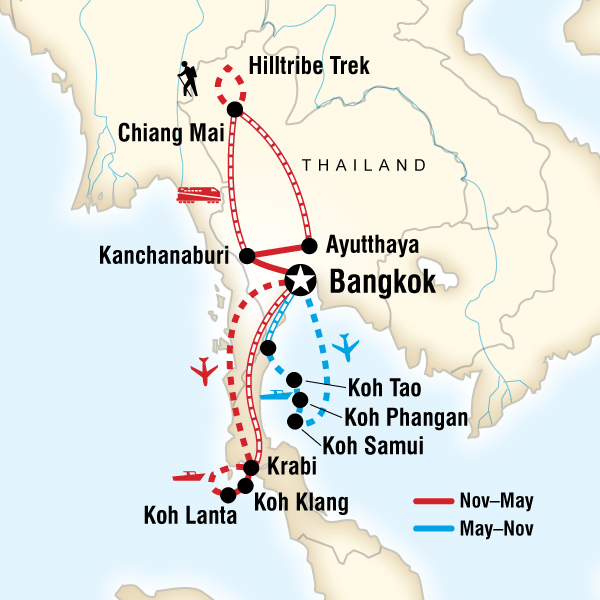 Thailand Experience in Kanchanaburi Province Lonely Planet