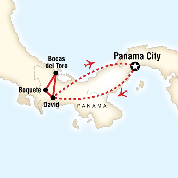 Map of Best of Panama