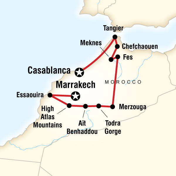 Highlights Of Morocco In Morocco Lonely Planet - Sweden map lonely planet