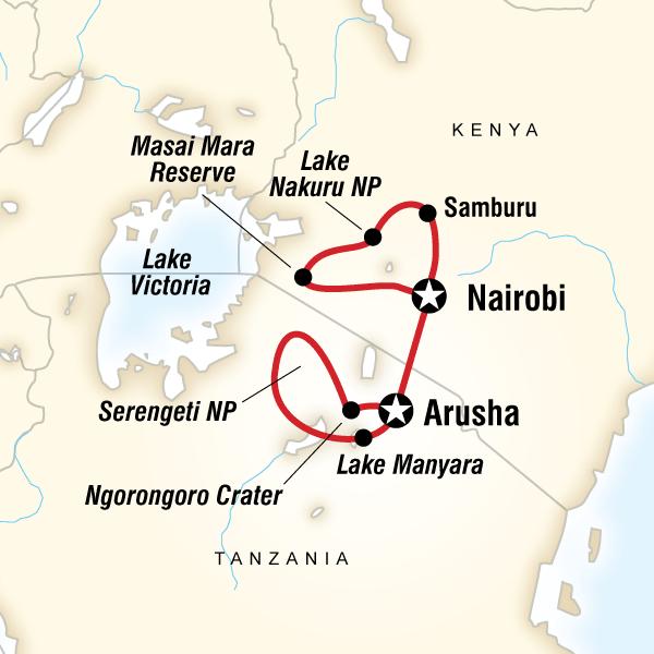 Kenya & Tanzania Camping Safari