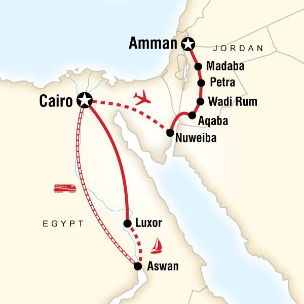 Egypt  Jordan Adventure in WORLD  Lonely Planet
