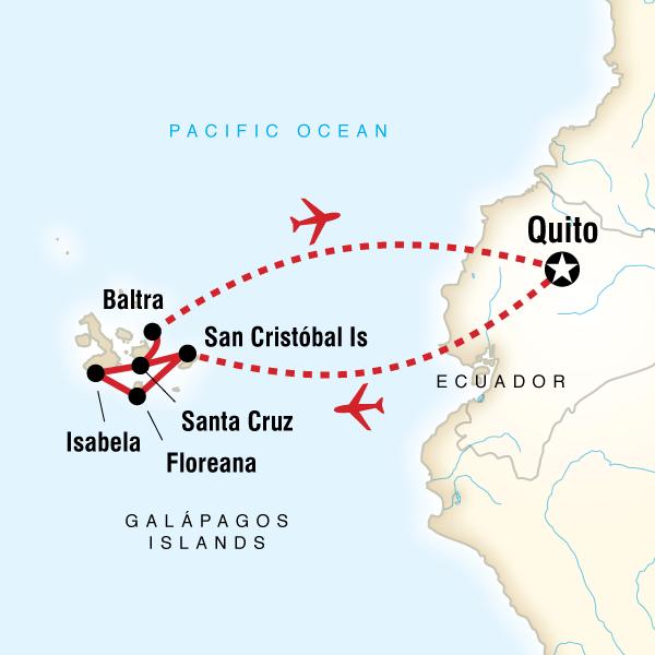 Land Galбpagos — Multi-Activities