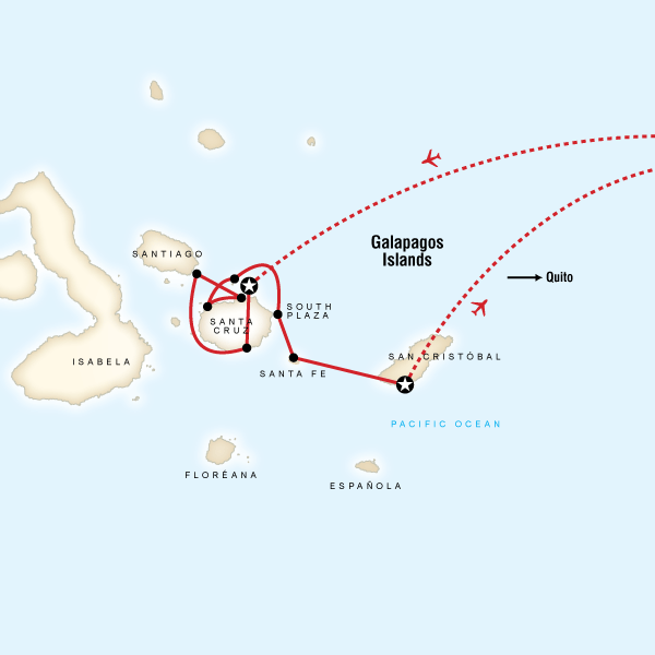 Galбpagos — Central Islands aboard the Xavier III