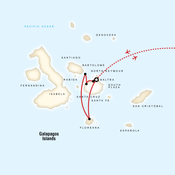 Galбpagos Land & Sea — Central & South Islands aboard the Yolita