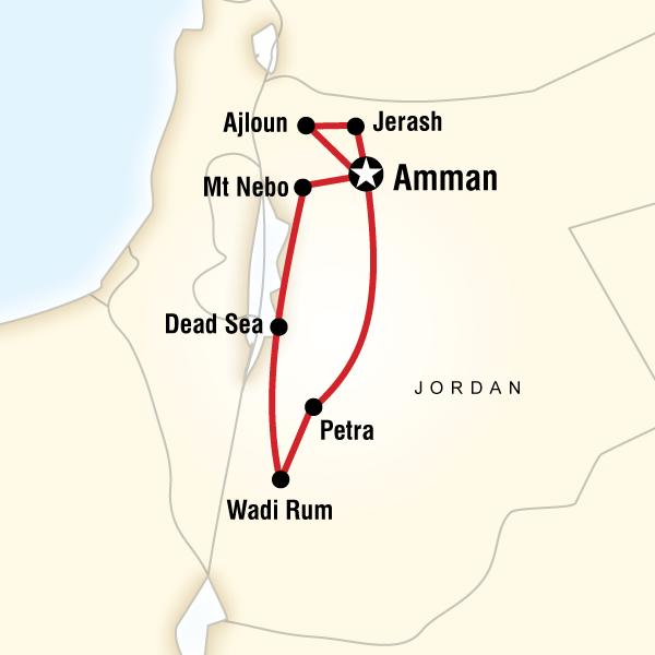 Explore Petra  Wadi Rum Independent Adventure in Amman Jordan