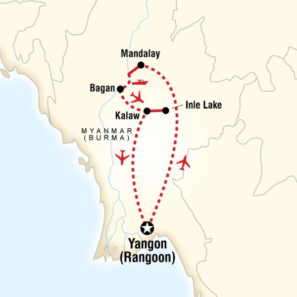 The Heart of Myanmar (Burma)