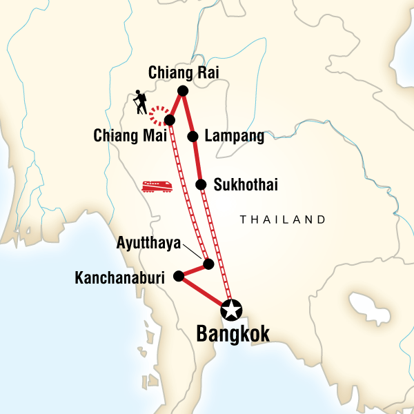 Northern Thailand Encompassed