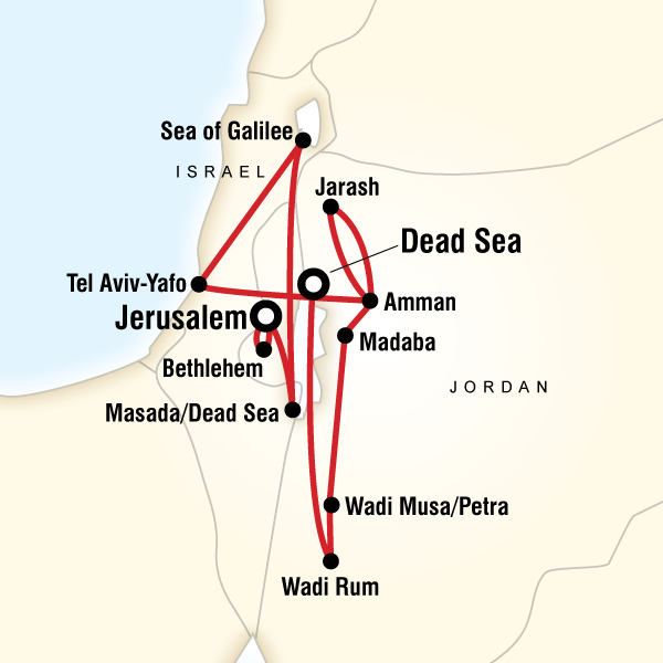 Explore Israel  Jordan  Lonely Planet