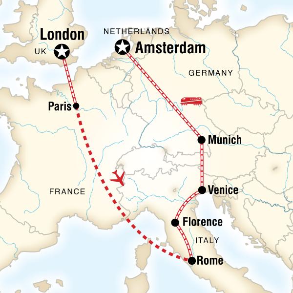 Cities of Europe