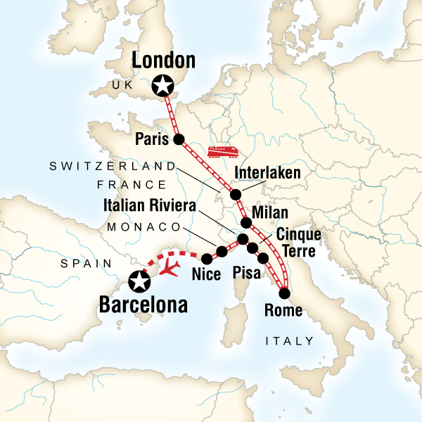 London to Barcelona on a Shoestring