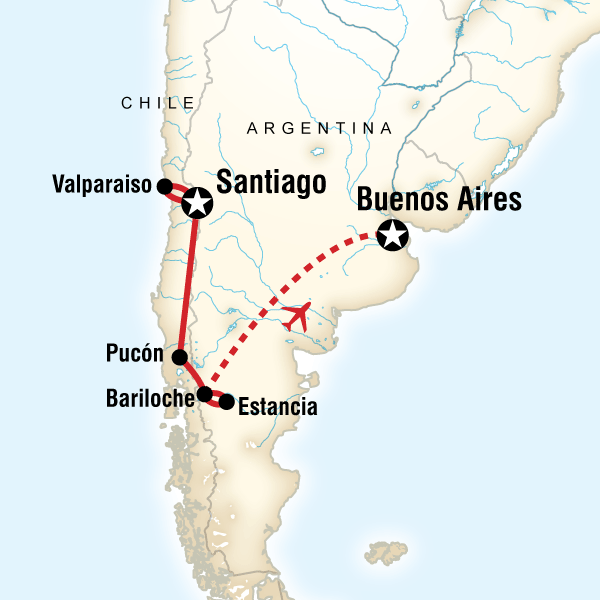 Highlights Of Chile Argentina Lonely Planet - Argentina highlights map