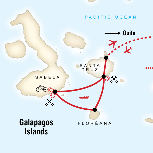 Galápagos Multisport with Quito