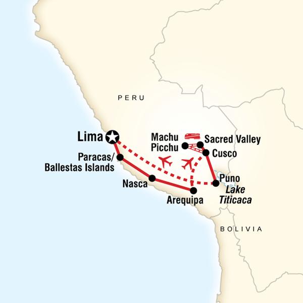 Map of Inca Explorer