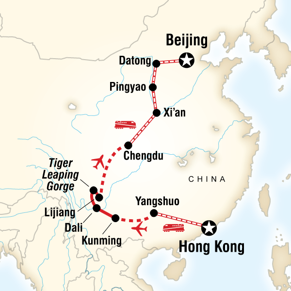 Classic Hong Kong to Beijing Adventure