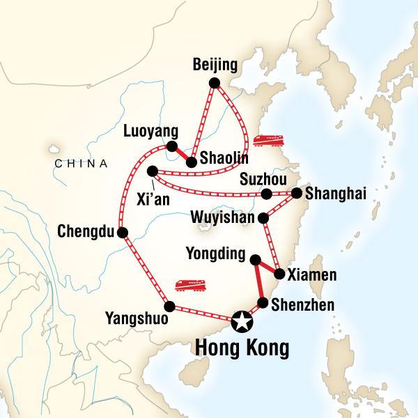 trips china shoestring hong kong beijing acrc