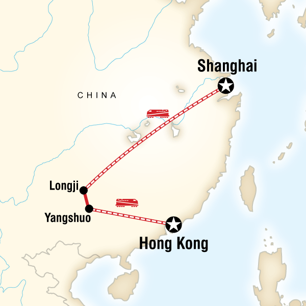 Classic Shanghai to Hong Kong Adventure