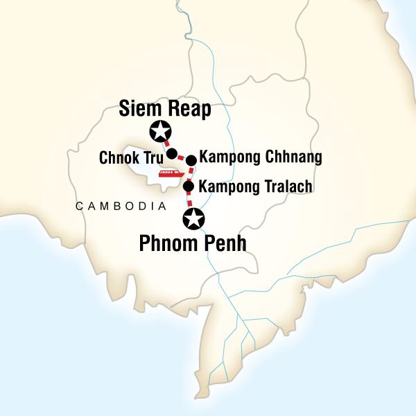 Mekong River Adventure – Phnom Penh to Siem Reap