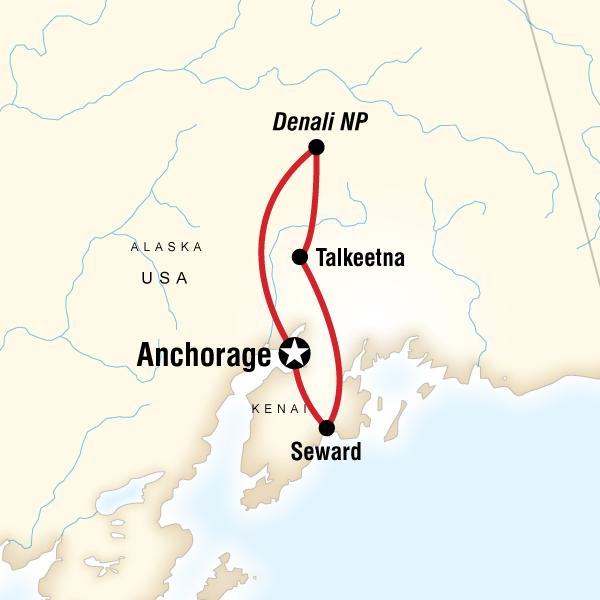 Alaska Kenai and Denali Adventure