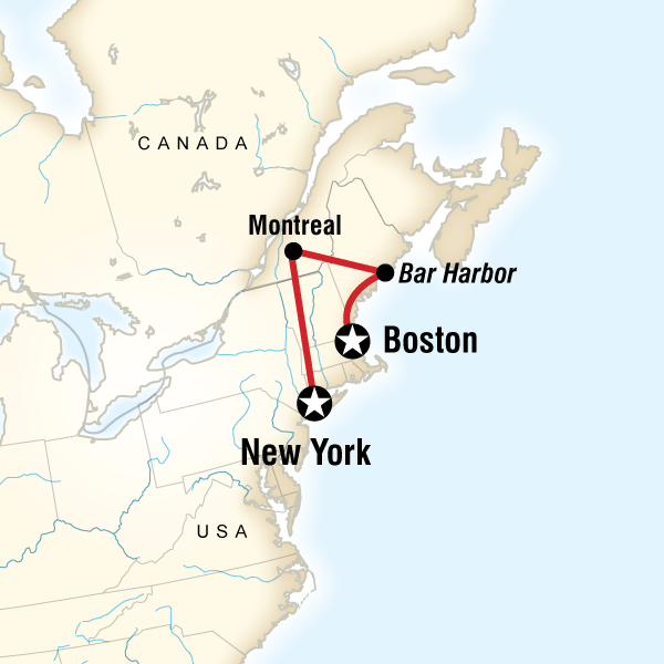 Best of New York, Montreal & New England