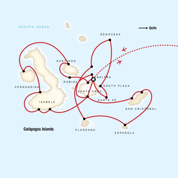 Complete Galбpagos - Estrella del Mar