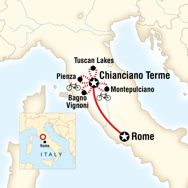 Cycling In Tuscany In Italy Lonely Planet - Sweden map lonely planet