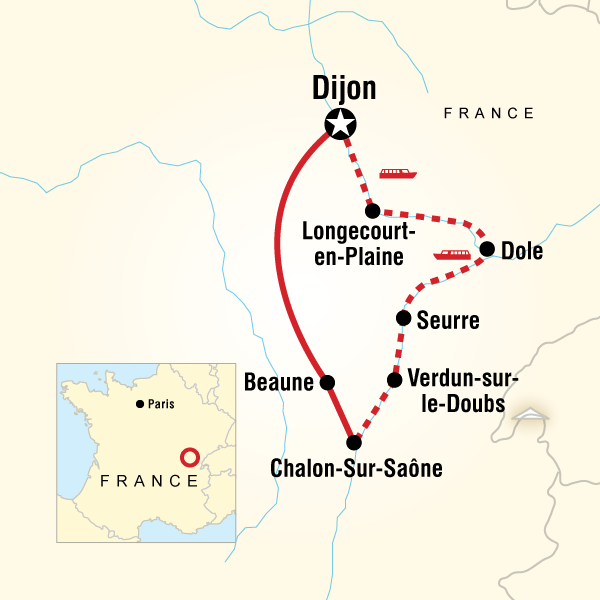 Burgundy River Adventure