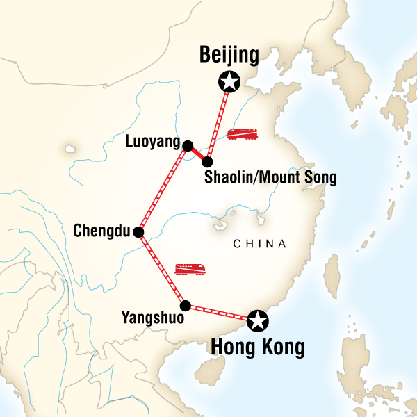 Hong Kong to Beijing on a Shoestring