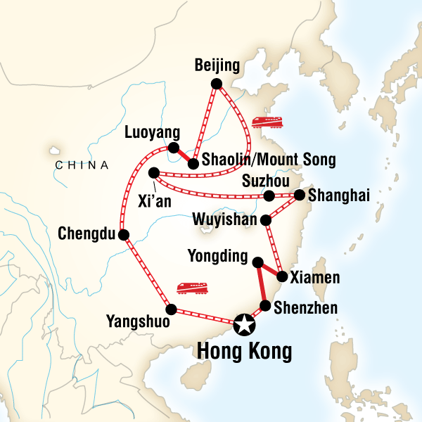 Ultimate China on a Shoestring - Hong Kong to Hong Kong