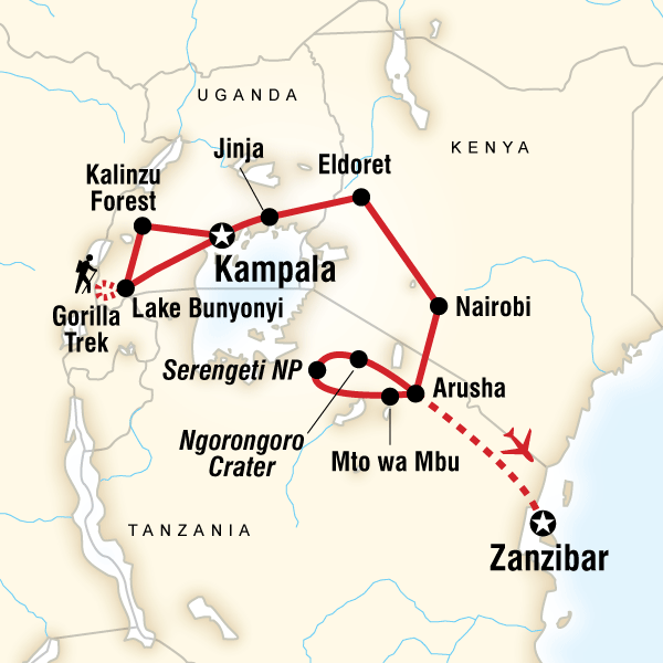 East Africa Overland