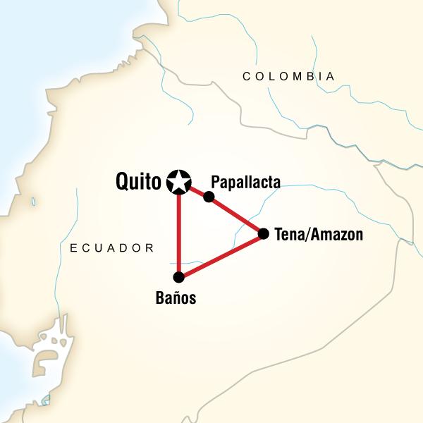 goXplore Abenteuerreisen,Ecuador Quest - 8-Tage-Classic