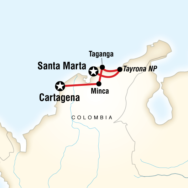 Caribbean Colombia Express