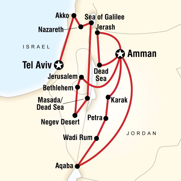 Jordan and Israel Adventure in Jordan  Lonely Planet