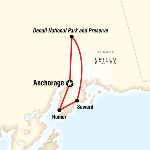 Alaska Journey In Anchorage, USA