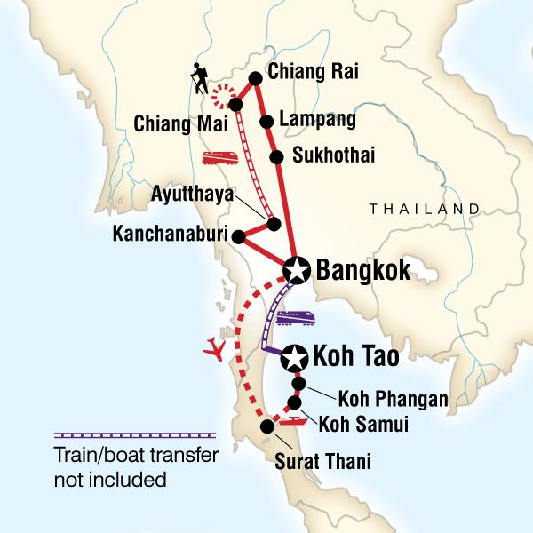 Thailand Encompassed East Coast Islands in Kanchanaburi Province