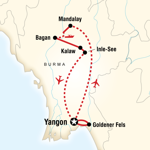 Erlebnisreise durch Myanmar