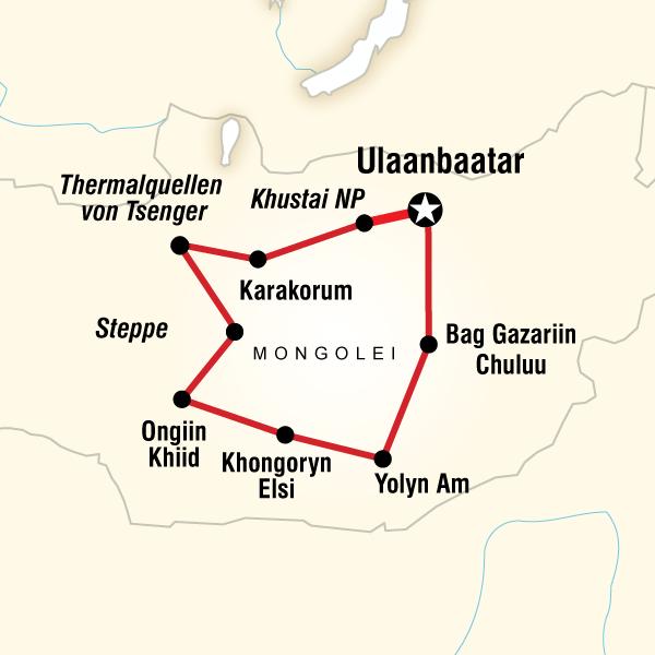 Nomaden der Mongolei
