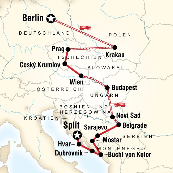 Osteuropa, Kroatien & der Balkan