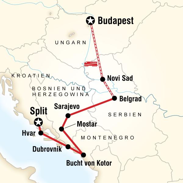 Kroatien und der Balkan
